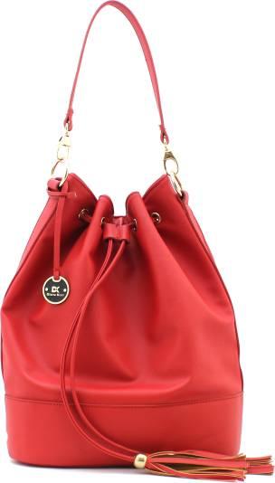 Diana Korr Women Red Shoulder Bag