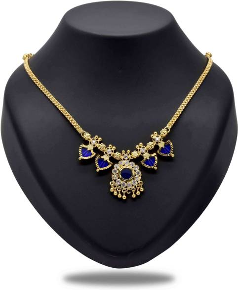 Kollam Supreme One Gram Gold Plated Double Palakka Necklace Gold Plated  Alloy Reviews: Latest Review of Kollam Supreme One Gram Gold Plated Double Palakka  Necklace Gold Plated Alloy | Price in India |