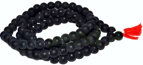 Beadworks Shaligram Mala Unique Rare Collection 8mm Sacred Stone Black Round Bead Both Porpose One Can Wear Worshipping Japa Beads Necklace Reviews Latest Review Of Beadworks Shaligram Mala Unique Rare Collection 8mm