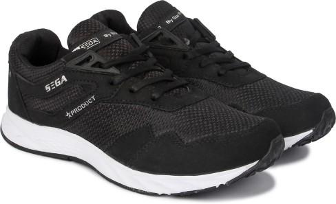 Sega Black Marathon Running Shoes Men