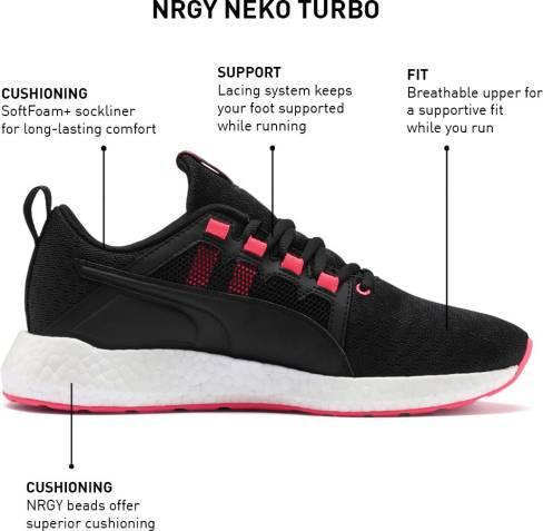 Puma Nrgy Neko Turbo Wn S Running Shoes Women Reviews ...