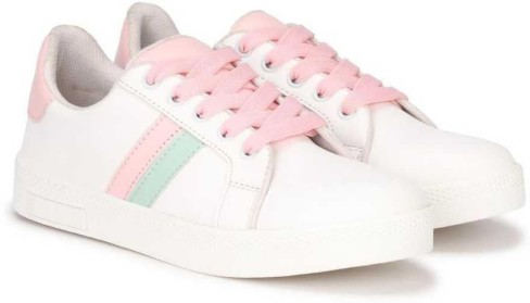 Modern Stylish Sneakers Girl Women