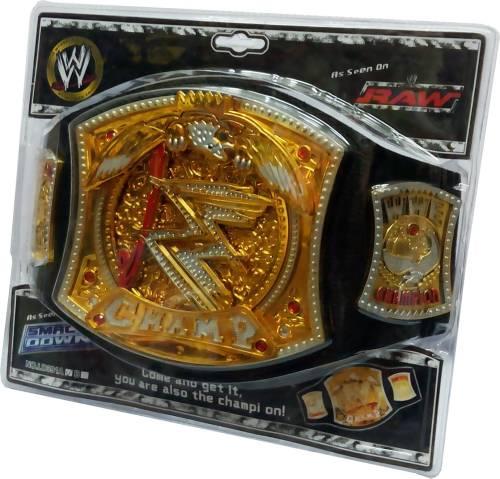 da229bdb6bdd Gift World Wwe Spinning Championship - Championship Title Belt (Gold)