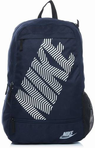 Nike Blue Polyester Backpack Price in India   Buy Nike Blue ... d504ee8bf2