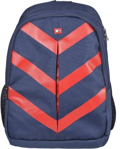 c391099e61 Tommy Hilfiger Biker Club Delta 15.8 L Medium Laptop Backpack (Blue, Red)