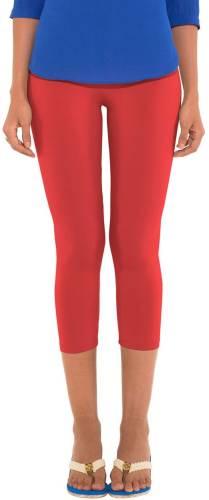 333e5daab2631c Go Colors Ladies 3/4 Leggings Women's Orange Capri Price in India ...