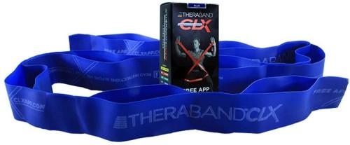 NEW THERABAND CLX Individual Pre-Cut 5/' Resistance Band Consecutive Loops Black