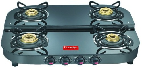image of prestige royale plus gas stove with 4 burners