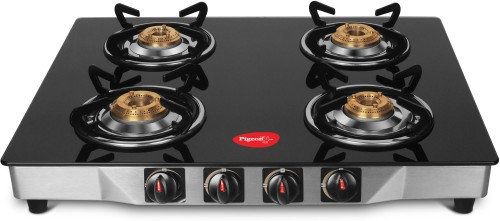 Image of 4 burner gas stove under Rs. 4000 in India from pigeon
