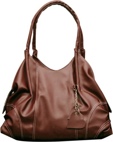 Fostelo Brown Faux Leather Shoulder Bag Price in India   Buy Fostelo ... db131411cb