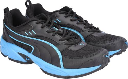 612b9e9b9451ea Puma Atom Fashion III DP Running Shoes For Men (Black) Price in ...