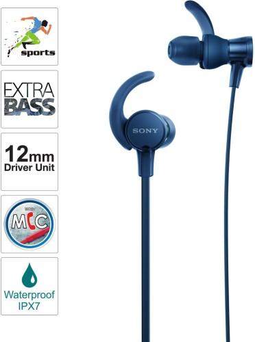 Sony extra bass earphones under 2000