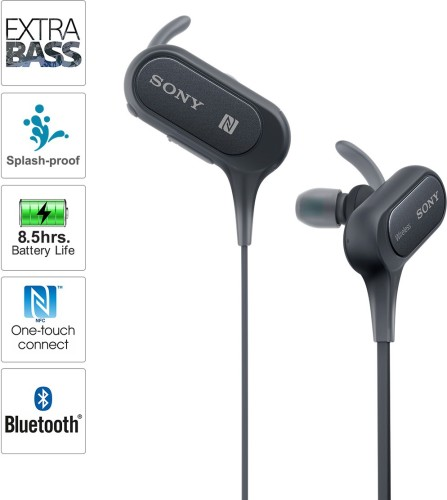 Image of sony wireless earphones under 5000 in India