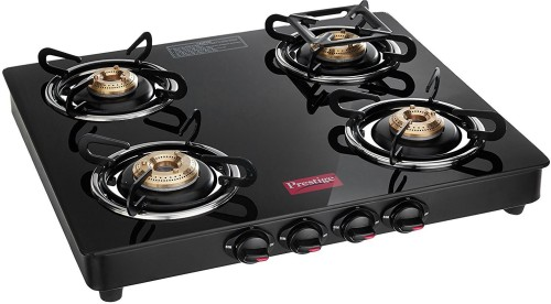 image of best gas stove under 5000 with 4 burners from prestige