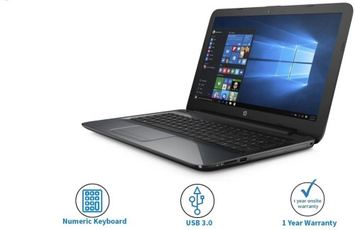 HP 15.6 inch AMD APU A8 Laptop is one of the best laptop under 25000