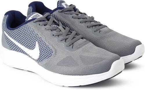c08d06ebb641 Nike REVOLUTION 3 Running Shoes For Men (Grey)