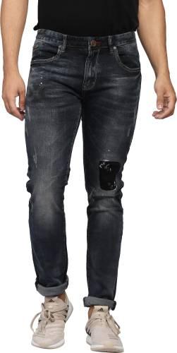 769bf509 Nostrum Jeans Slim Men's Black Jeans Price in India | Buy Nostrum Jeans  Slim Men's Black Jeans Online - Gludo.com