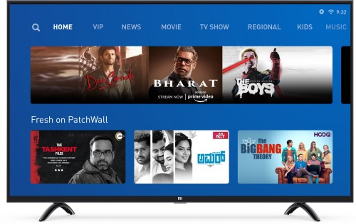 Image of Mi 50 inch 4K LED TV which is one of the best and affordable led tvs