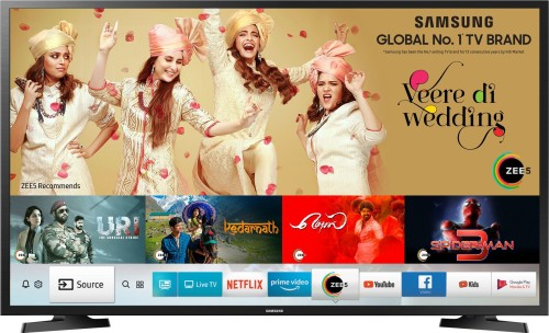Image of Samsung 40 inch TV which is one of the best smart televisions in India