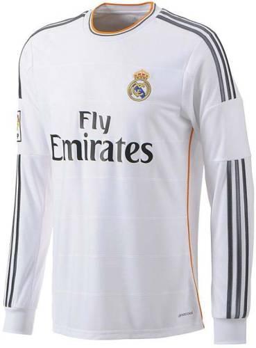 cb44a0fda Navex Navex Footbal Jersey Club Real Madrid White Full Sleeve Ket M (38) Football  Kit Price in India
