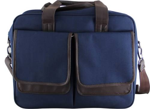 Mohawk 15 inch Laptop Messenger Bag (Blue) d4503aabebc29