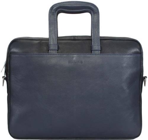 Brune 13 Inch Laptop Messenger Bag Blue
