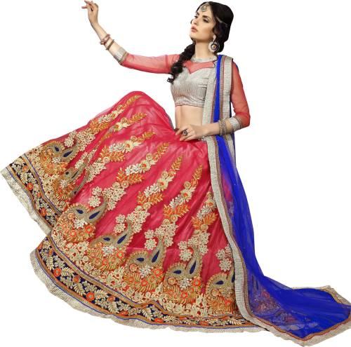 4600531f5d2 Aasvaa Embroidered Women s Lehenga