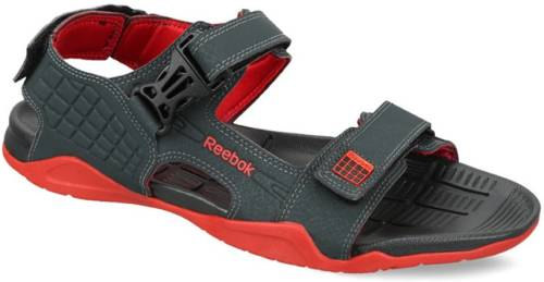 0229eaa7ba602 Reebok Men GRAVEL BLK RED Sports Sandals Price in India
