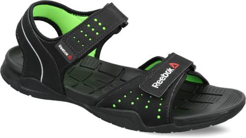 7fd76188a5b5 Reebok Men BLACK NEON GREEN Sports Sandals Price in India