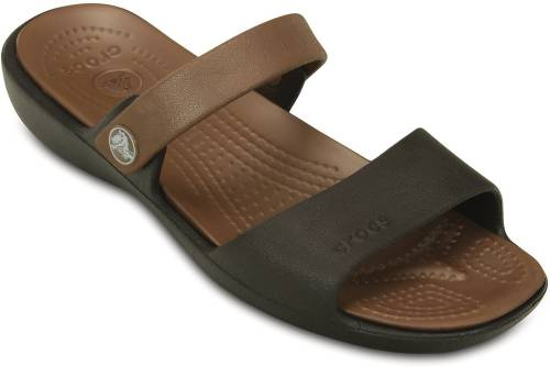 456d0bfeb7d457 Crocs Women Espresso Bronze Flats Price in India