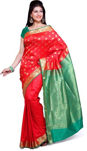 72cd68a1a Ishin mysore silk Sarees Prices in India - Shop Online for Best ...
