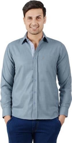 106bad5af98 S9 MEN Men s Solid Casual Grey Shirt