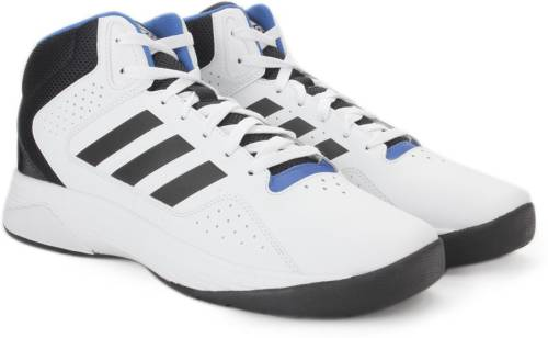 81a1bcec7209 Adidas Neo CLOUDFOAM ILATION MID Mid Ankle Sneakers (White) Price in India