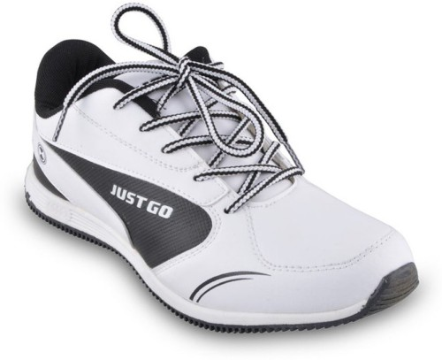 Just Go Running Shoes(White)   Store Prix