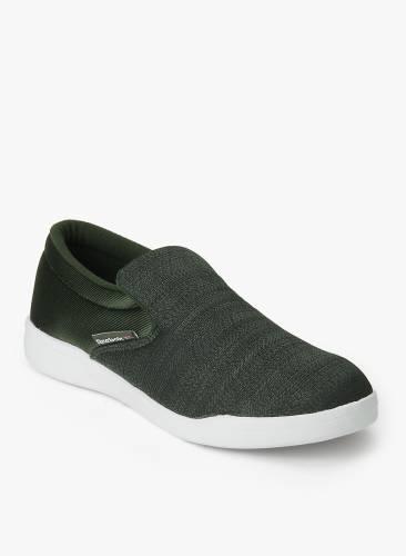 20430b8403e9 Reebok COURT SLIP ON Men Loafers (Green) Price in India