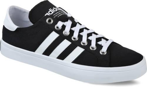 0f83fb55b17 Adidas Originals COURTVANTAGE Sneakers (Black)