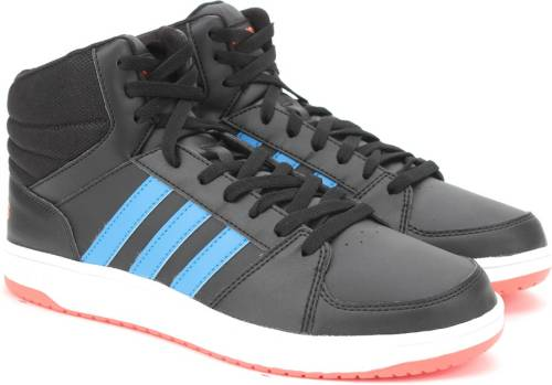 biggest discount big discount on feet images of Adidas Neo HOOPS VS MID Mid Ankle Sneakers (Black) Price in ...