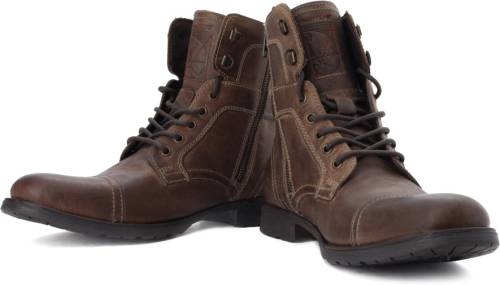 Red Tape Men Genuine Leather Boots (Brown) Price in India  d0c1f54b514e