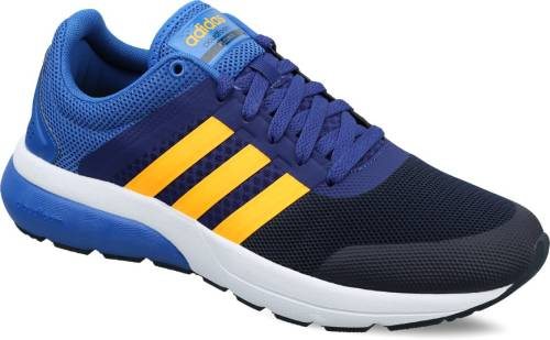 pretty nice 01c2e 240ff Adidas Neo CLOUDFOAM FLOW 2.0 Sneakers (Blue, Gold)