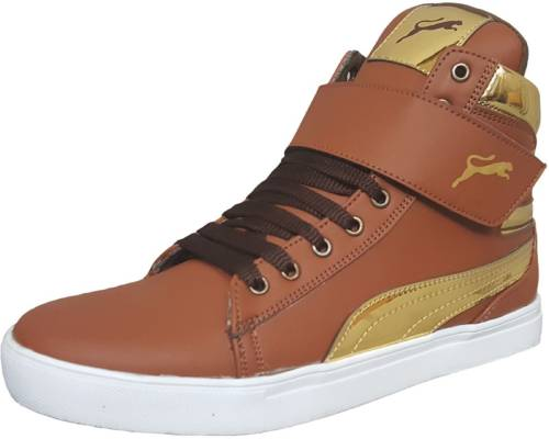 Black Tiger Men s Synthetic Leather Casual Shoes 8000-G-Tan-9 Casuals  (Multicolor) Price in India  622952180