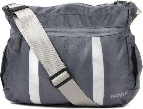 bef04907d Novex Men Black Nylon Sling Bag Price in India
