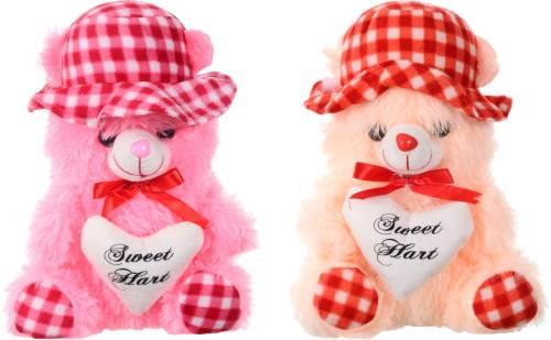 Joy Mart Cute Couple Love Heart Teddy Bear For Your Special One Or