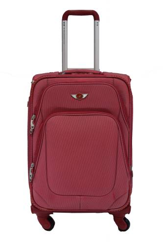 a3c72949fff5 Polo House USA 8669s Expandable Cabin Luggage - 20 inch (Red)