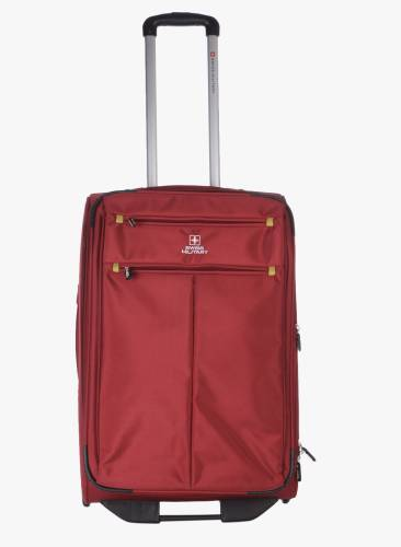 Swiss Military POLYESTER MEDIUM Size 24inch TRAVEL LUGGAGE Check-in Luggage  - 24 inch ( 5f31dca928c6c
