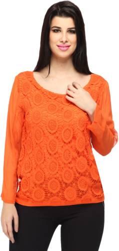 dacb0e9fb84c9f Ozel Studio White Cotton Asymmetrical Tops Price in India