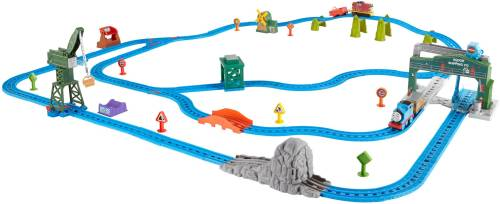 Thomas & Friends Motorized Railway Day at the Docks Deluxe Set ...
