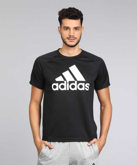 9112674c5369 Adidas T shirts for Men and Women - Buy Adidas T shirts Online at India s  Best Online Shopping Store