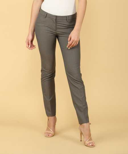 a8fe6d97b6b30 Formal Pants For Women - Buy Ladies Formal Pants online at Best Prices in  India