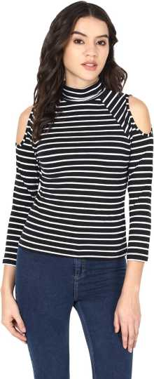 085b2b5125 High Neck Tops - Buy High Neck Tops online at Best Prices in India ...