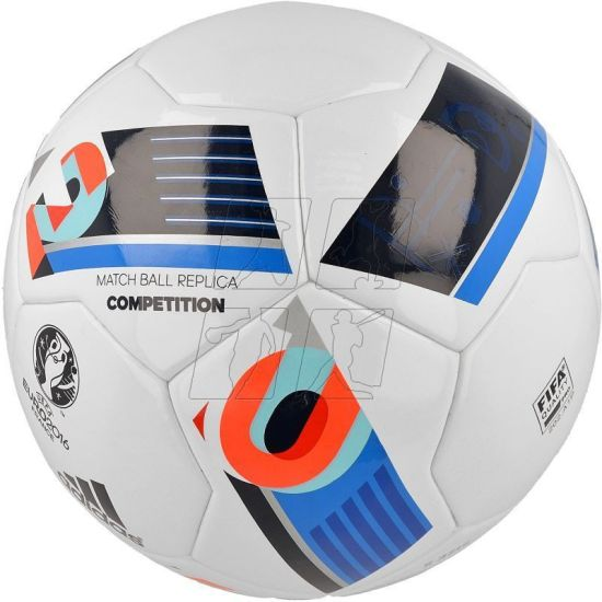 competitive price 7cbcf 15356 ADIDAS Euro16 Comp Football - Size 5 (Pack of 1, Multicolor)